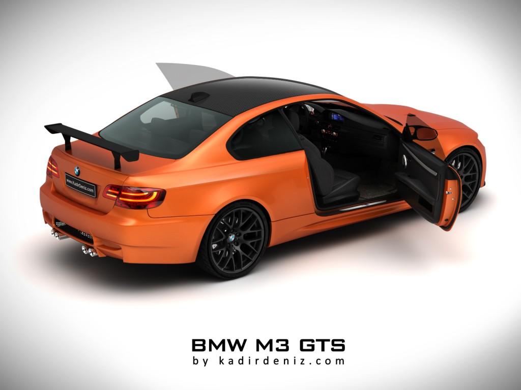 Bmw M3 GTS 2011