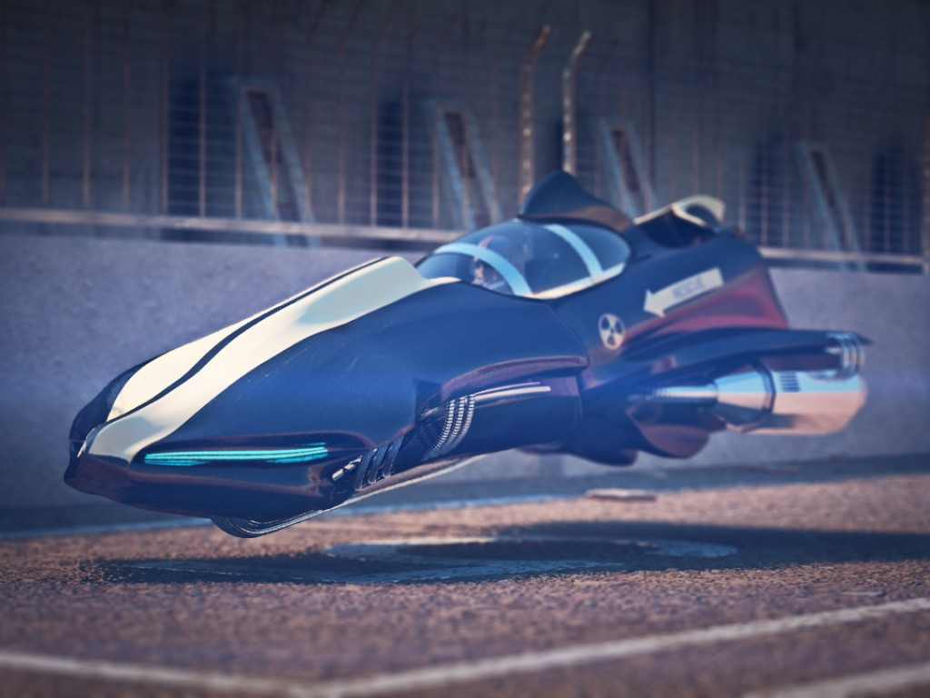 Sci-Fi Hava Aracı