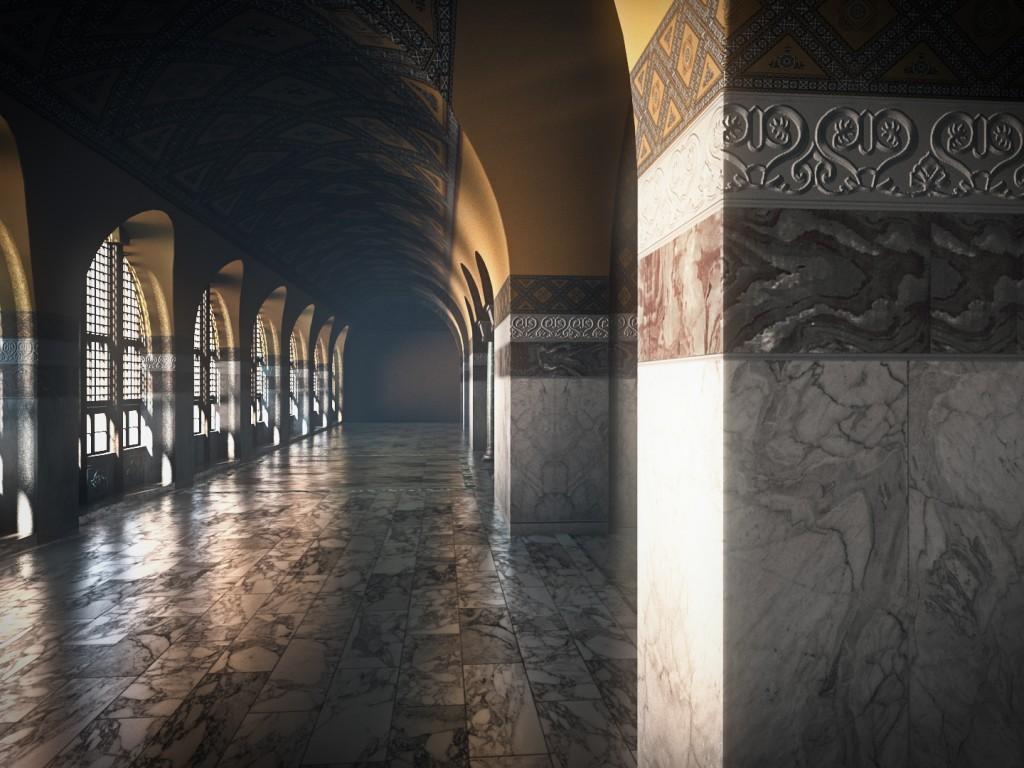 Ayasofya Bizans 3d Animasyon